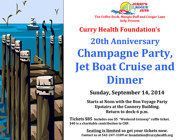 Champagne Cruise - Curry Health Foundation
